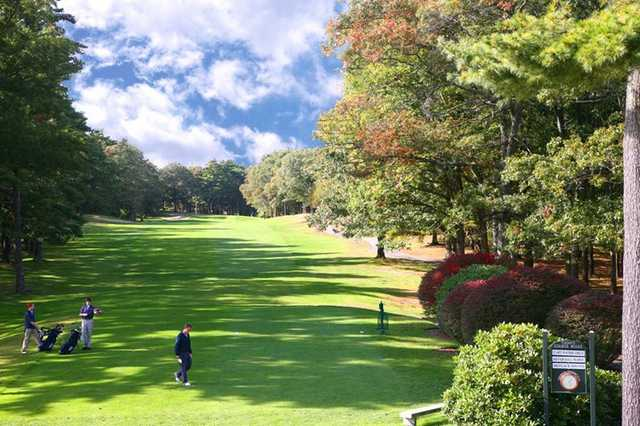 A view of fairway at Pembroke Country Club