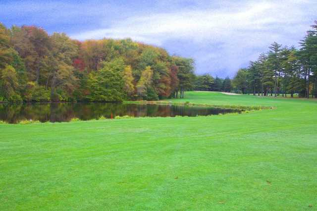 A view of hole #5 at Pembroke Country Club