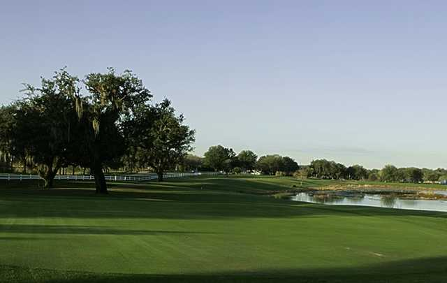A view from Meadow Oaks Golf & Country Club