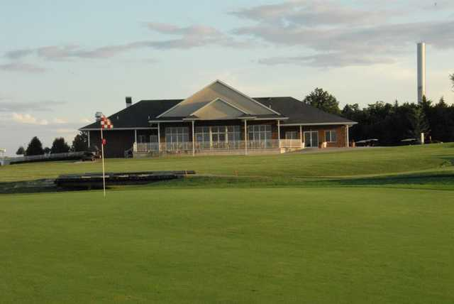 A view of the clubhouse at Redfield Golf & Country Club