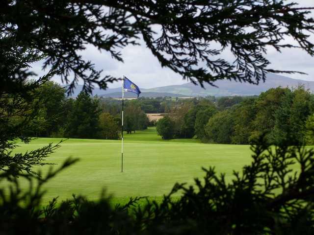 View back down the 14th at Enniscorthy Golf Club