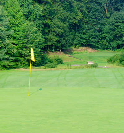 A view of the 5th hole at Galen Hall Golf Club
