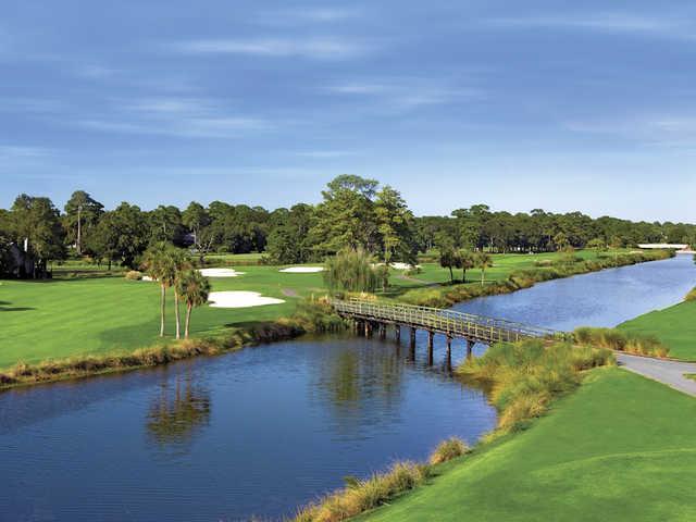 George Fazio Golf Course at Palmetto Dunes Oceanfront Resort, Hole #11.