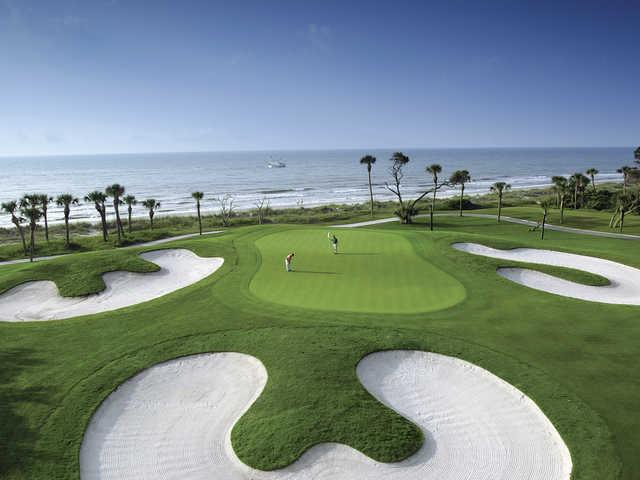 Robert Trent Jones Oceanfront Course at Palmetto Dunes Oceanfront Resort, Hole #10