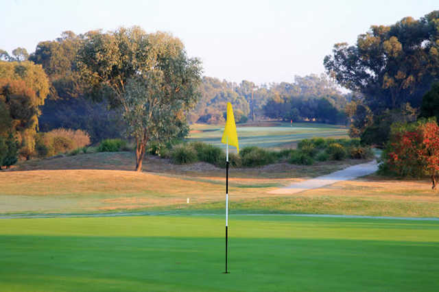 A view of hole #7 at West Course from Cobram-Barooga Golf Club