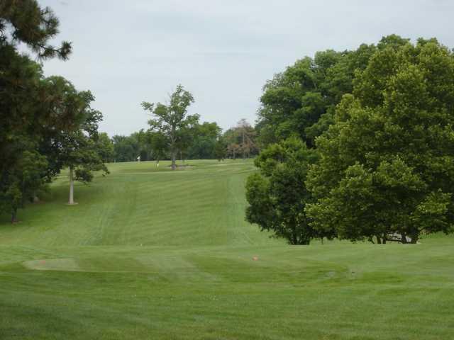 A view of the 10th fairway at Madden Golf Course
