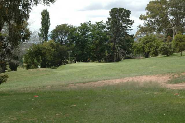 A view of the 4th hole at Goulburn Golf Club