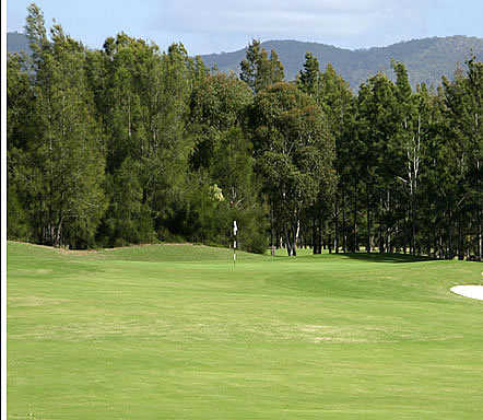 A view of the 16th hole at Hunter Valley Golf & Country Club