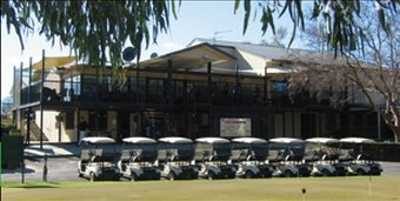 A view of the clubhouse at Moree Golf Club
