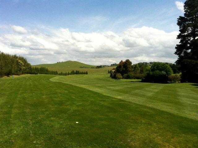 A view of fairway #17 at Moss Vale Golf Club
