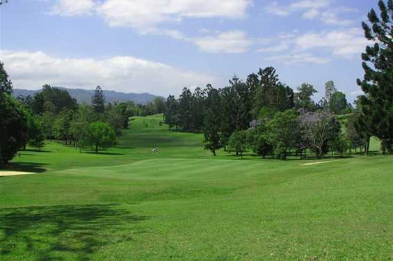 A view of the 6th hole at Murwillumbah Golf Club