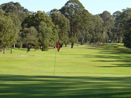 A view of the 2nd hole at Brighton Lakes Recreation & Golf Club
