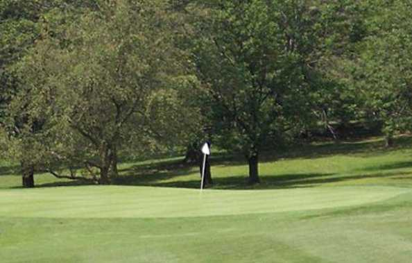 A view of hole #1 at South Course from South Hills Golf Club