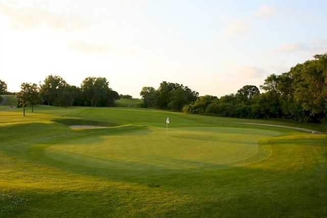 A view of the 2nd hole at Cannon Golf Club