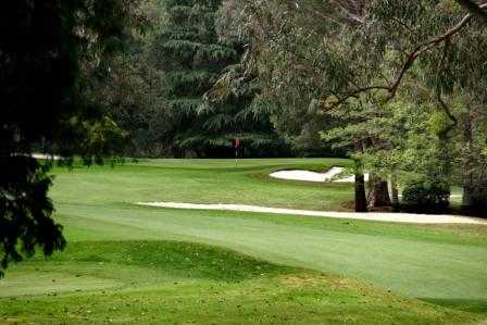 A view of the 17th hole at Pennant Hills Golf Club