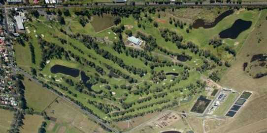 Aerial view of Richmond Golf Club