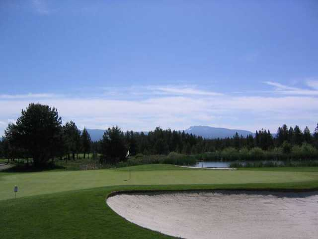 View of Paulina Peak from 14th green