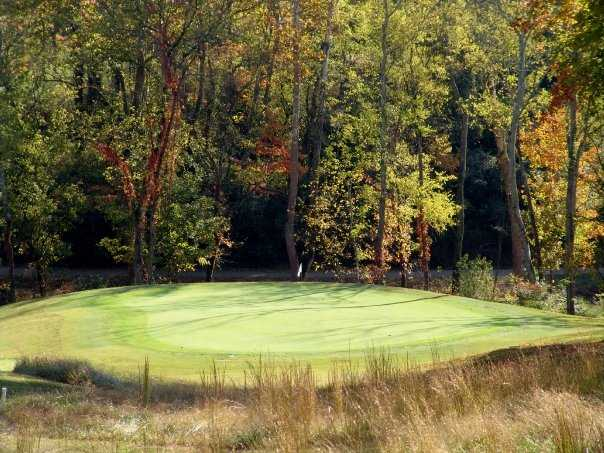 A view of the 9th green from Williams Creek Golf Course
