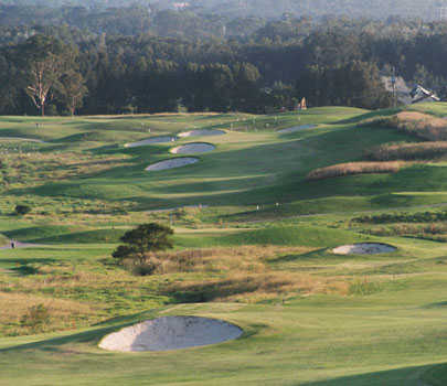 A view of the 5th hole at Links - Shell Cove Golf Course