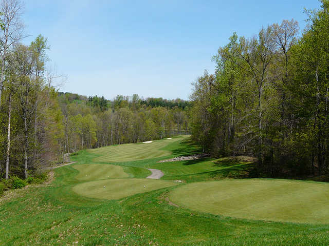 A view from tee #15 at Black Diamond Golf Course