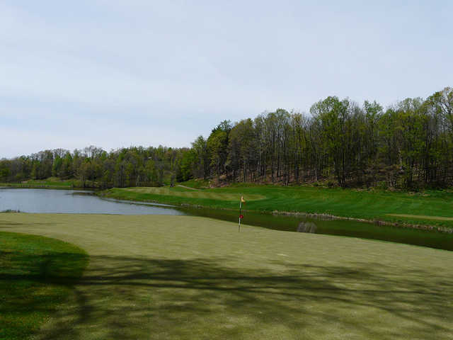 A view from of the 16th hole at Black Diamond Golf Course