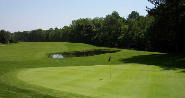 A view of the 7th green at Rome Country Club