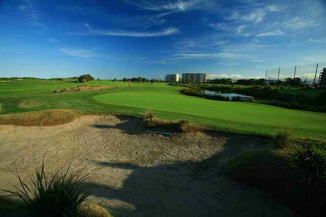 A view of green at Wollongong Golf Club