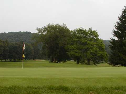 A view of a green at Championship Course from Brandywine Country Club