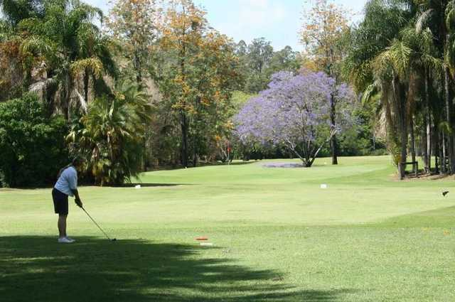 A view of green at Boomerang Farm Golf Course