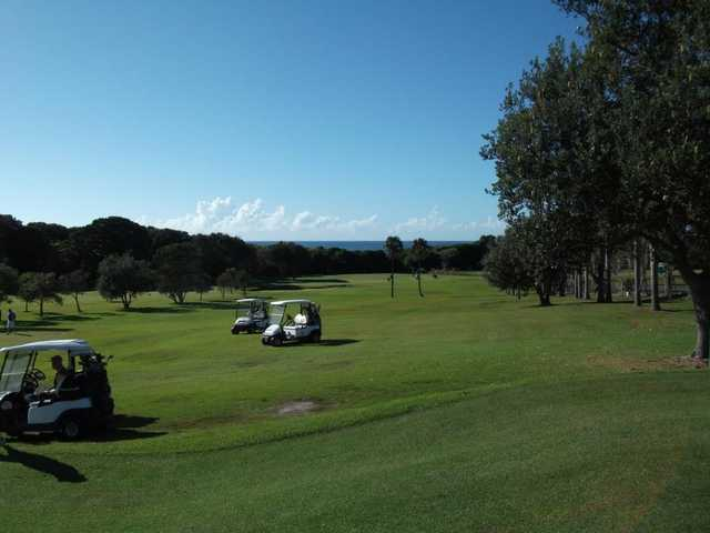 A view from Forster Tuncurry Golf Club
