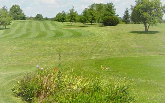 A view of a fairway at Henry County Country Club