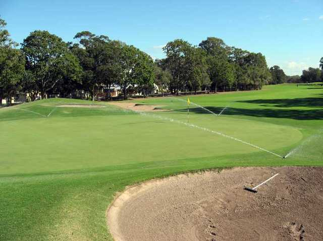 A view of green at Redcliffe Golf Club