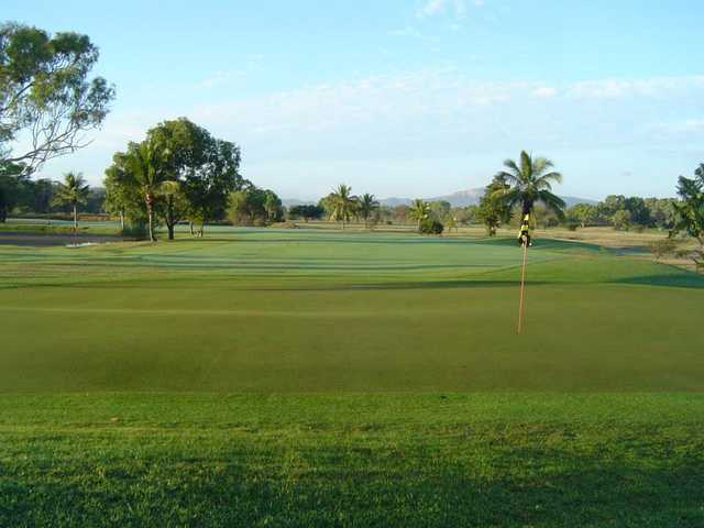 A view of a hole at Rowes Bay Country Golf Club