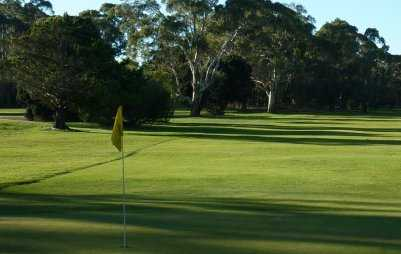 A view of a hole at Echunga Golf Club