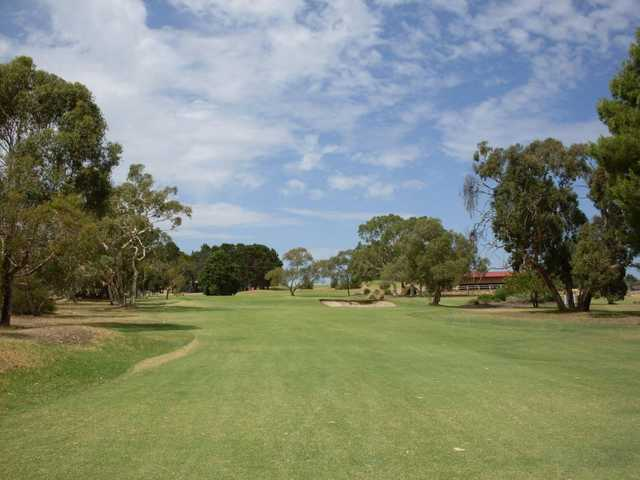 A view from fairway at Sandy Creek Golf Club