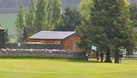 A view of a green at Heath Golf Club