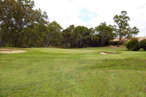 A view of the 12th green at Aston Hills Golf Club at Mount Barker