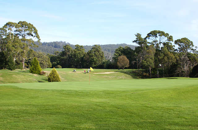 A view of green at Devonport Golf Club