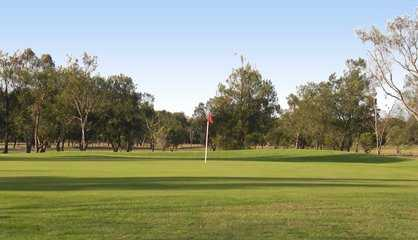 A view of a green at Barwon Valley Golf Club