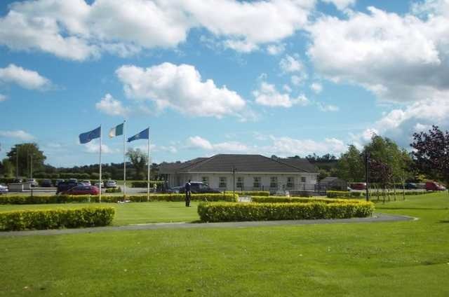 A view of the clubhouse at Mannan Castle Golf Club