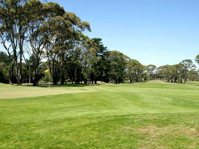 A view of green at Cerberus Golf Club