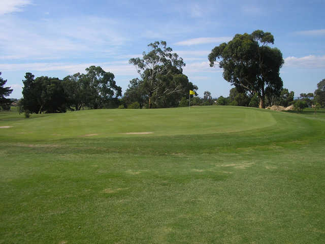 A view of green at Craigieburn Golf Course