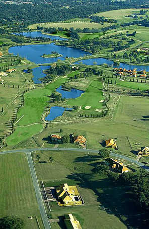 Aerial view from Hidden Valley Golf & Country Club
