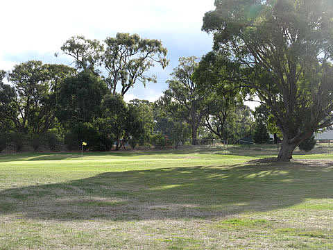A view from fairway #11 at Lancefield Golf Club
