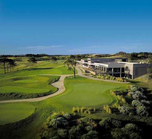 A view of the pavilion at Moonah Links