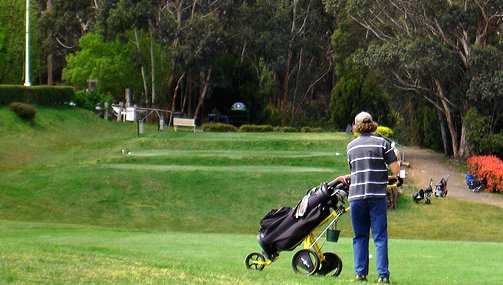A view from Mount Macedon Golf Club