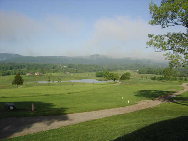 A view of fairways #6 and #9 from The Reserve At Collins River