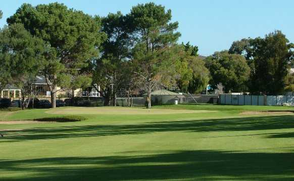 A view of the 14th green at Mosman Park Golf Club