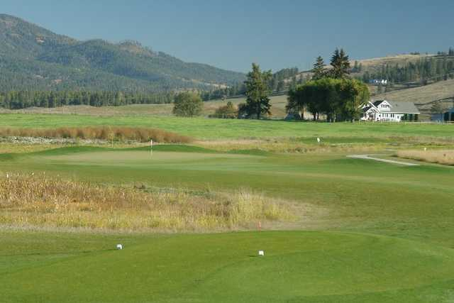 A view from the 11th tee at Dominion Meadows Golf Course