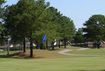 A view of green at Kempsville Greens Golf Course